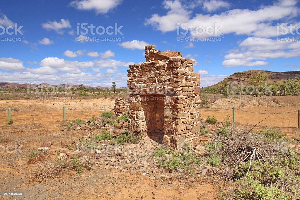 Flinders Ranges National Park, Australia stock photo