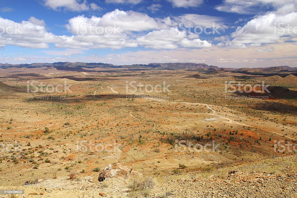 Flinders Ranges National Park, Australia stock photo