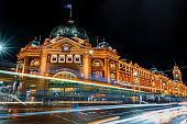 Flinders St, Melbourne