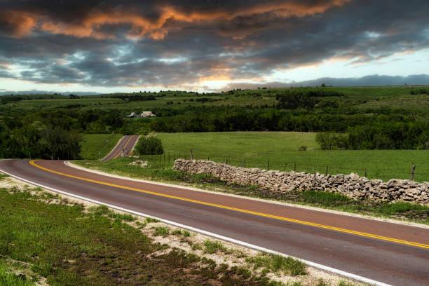 Flint Hills stock photo