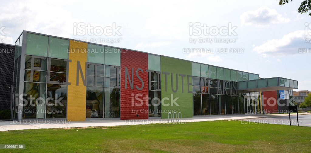 Flint Institute of Arts stock photo