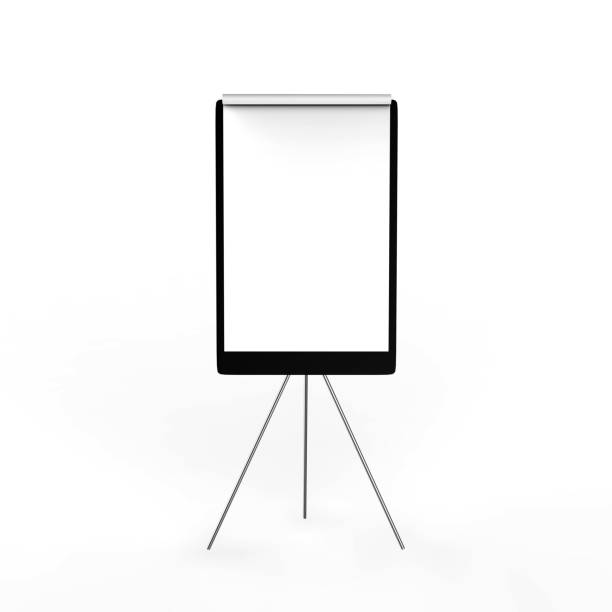 Flip Board Office, Chart, Equipment, Visual Aid, Flip chart flipchart stock pictures, royalty-free photos & images