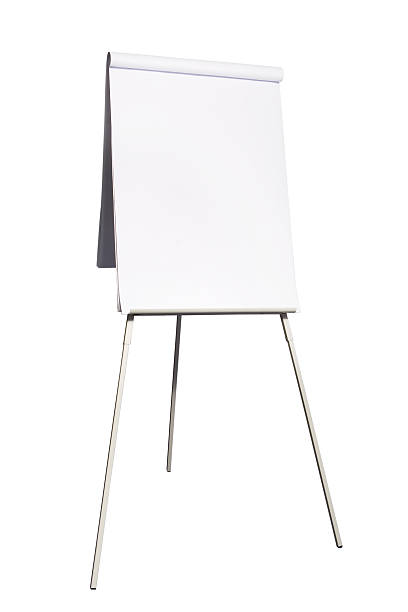 flip chart flip chart isolated on white flipchart stock pictures, royalty-free photos & images