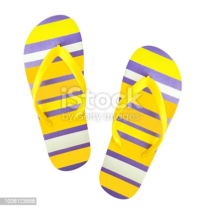 955947208 istock photo Flip flops isolated 1026123558