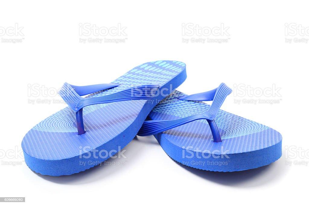 Flip flops, isolated stock photo