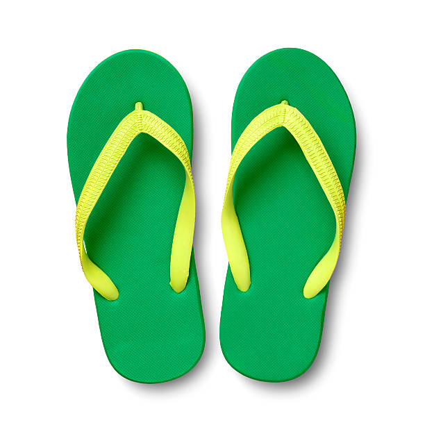 Flip flops stock photo