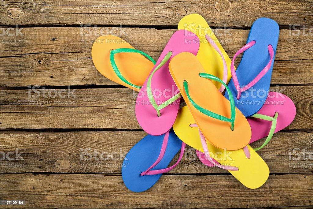 Flip-flop, Shoe, Sandal stock photo