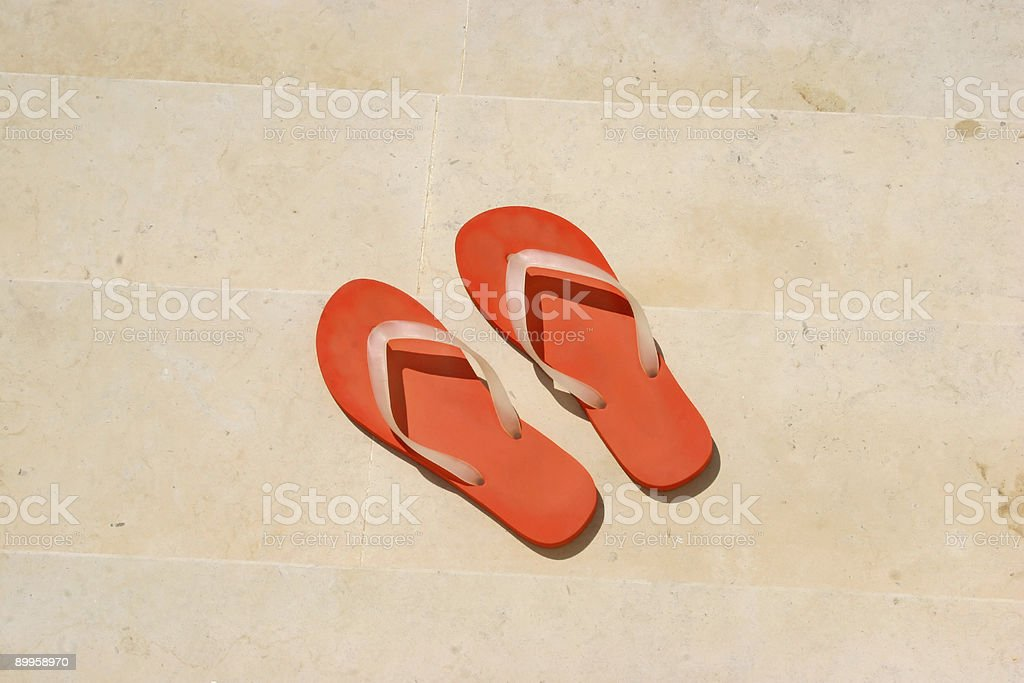 Flips on Marble royalty-free stock photo