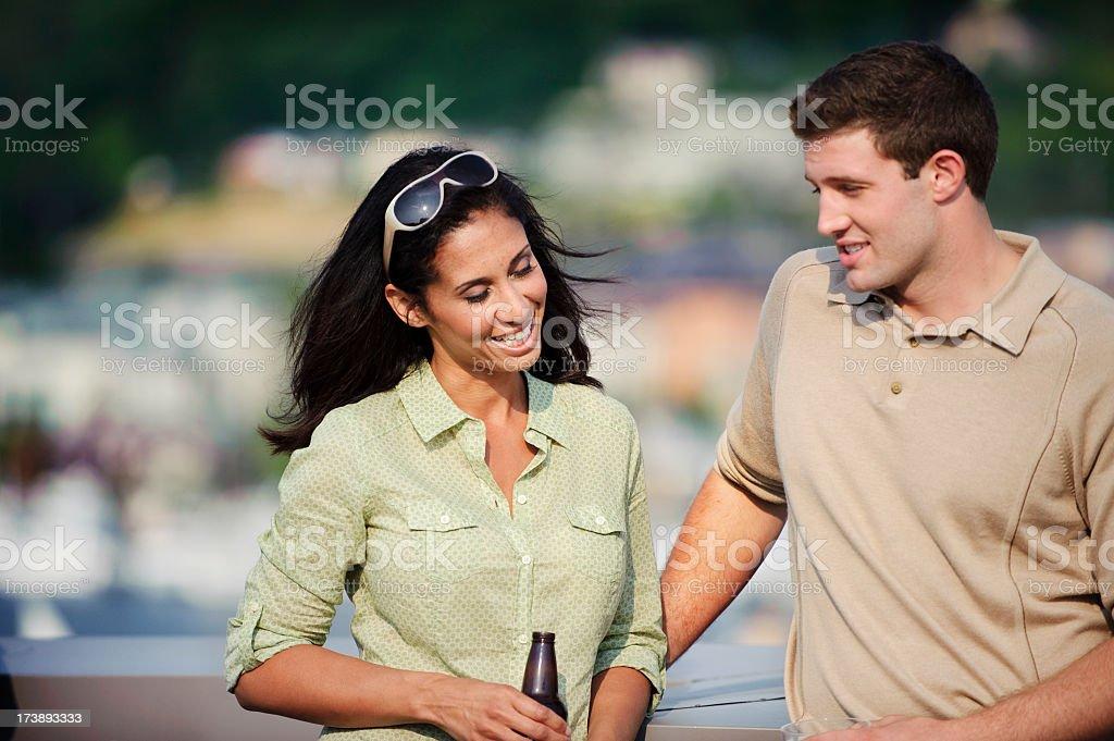 Flirtation stock photo