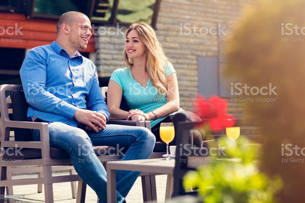 Dating Foto Stock