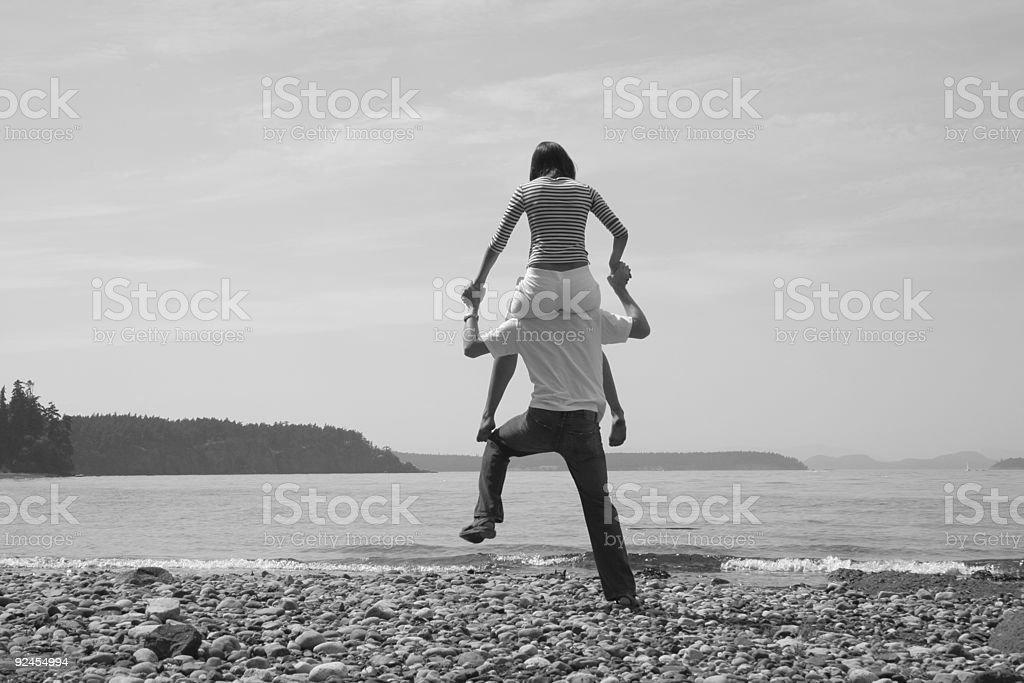 Flirting on the Beach