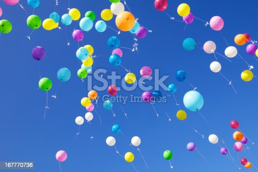 istock Fliying Balloons 167770736