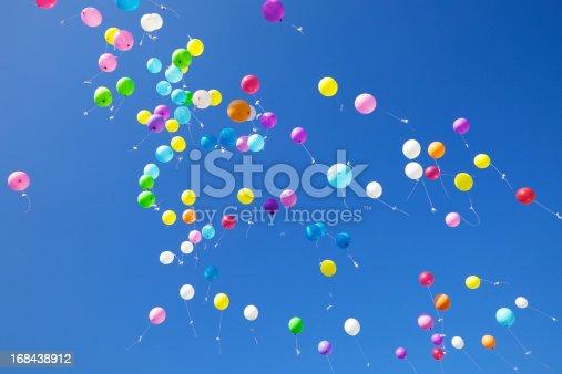 istock Fliying Balloons 168438912