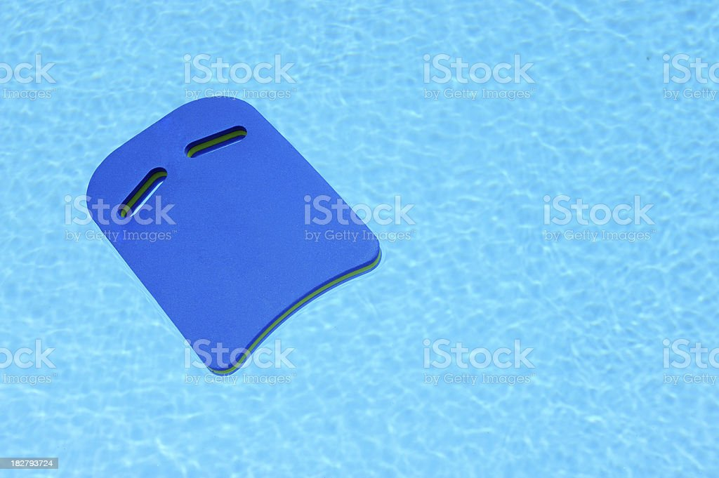 Float in Pool royalty-free stock photo