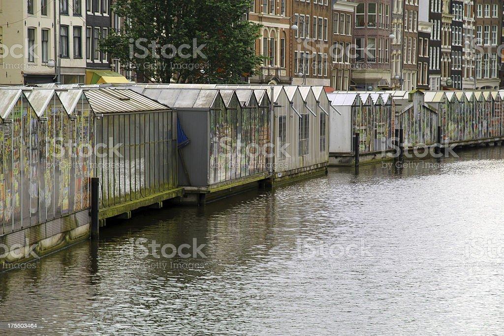 Floating flower Market royalty-free stock photo