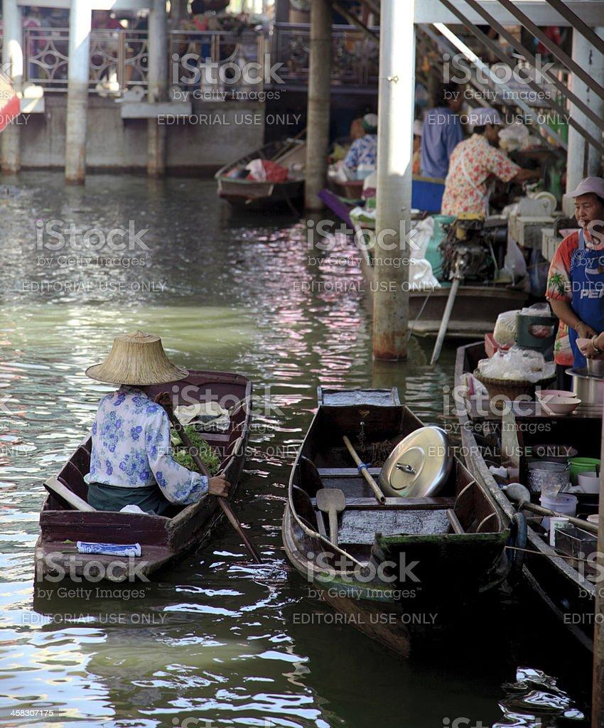 Floating Market - Bangkok stock photo