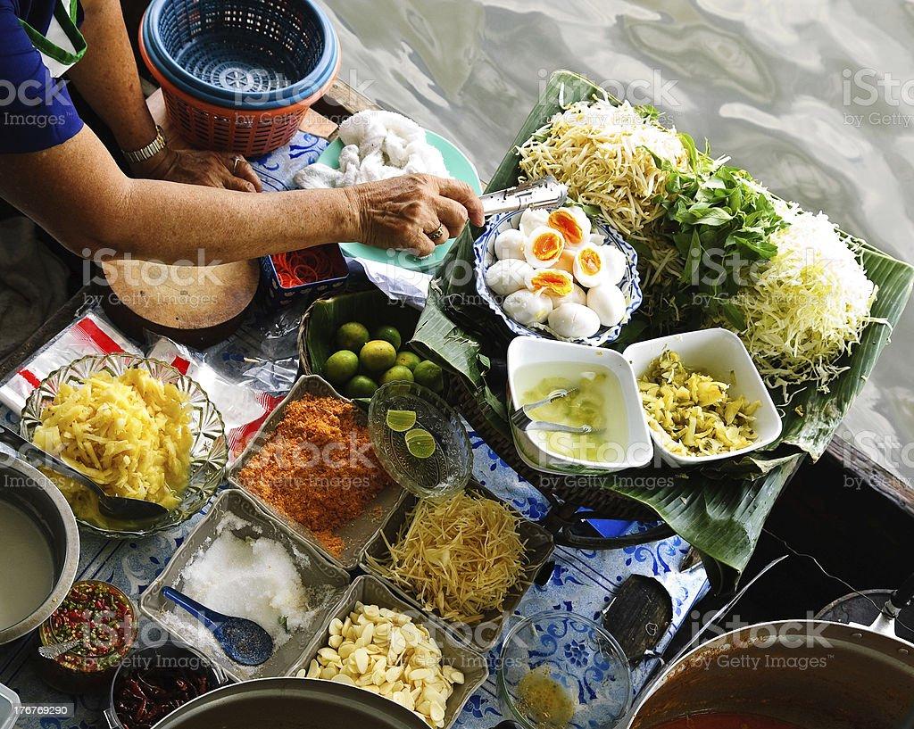 floating market stock photo
