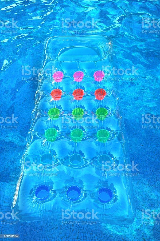 Floating matres royalty-free stock photo