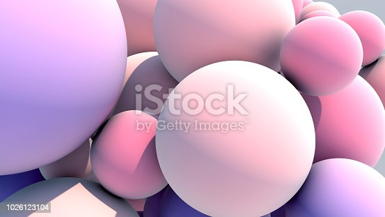 istock Floating Multicolored Balls Background 1026123104