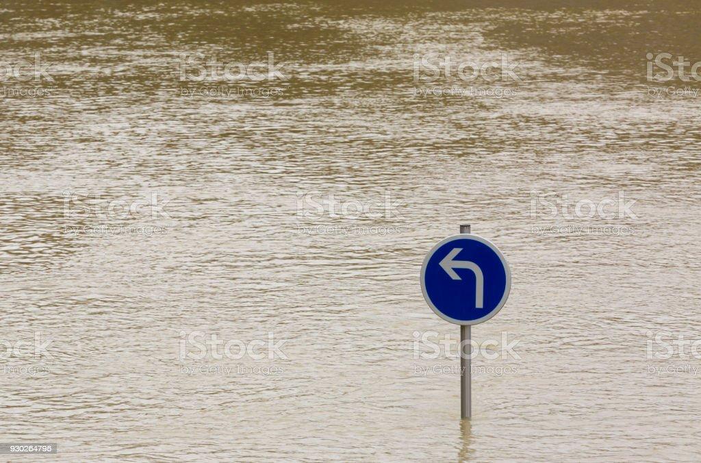 Flood Abstract stock photo