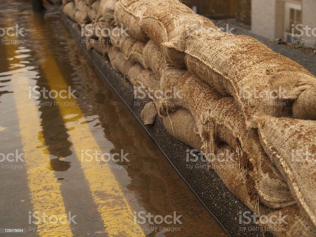 Flood Defences royalty-free stock photo