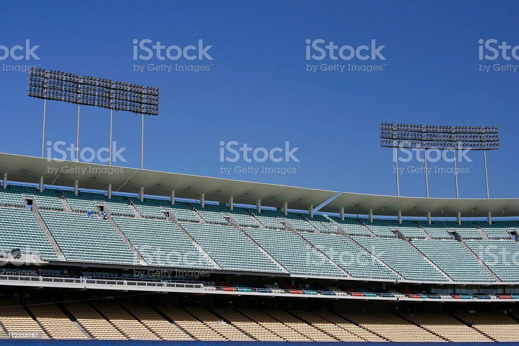 Flood Lights for Night in the Day royalty-free stock photo