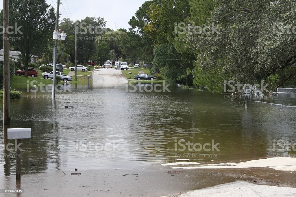 Flood Waters royalty-free stock photo