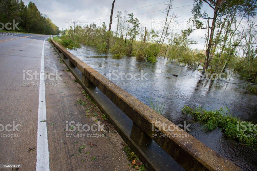 Hochwasser steigt in North Carolina nach Hurrikan Florence – Foto