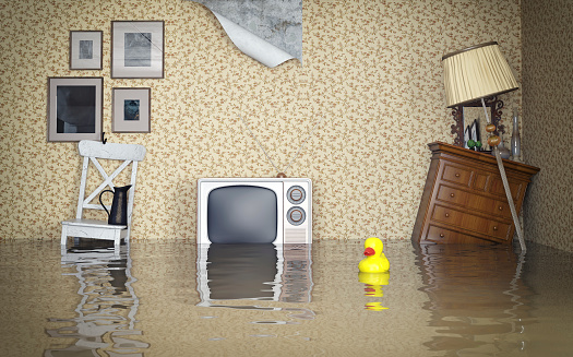 Flooded Interior Stock Photo - Download Image Now