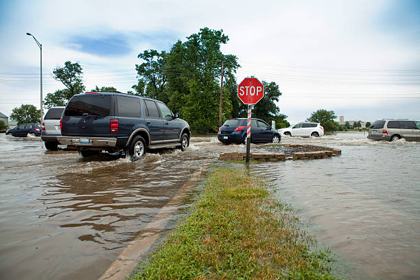 Flooded Intersection