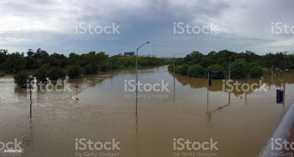 Flooded stock photo