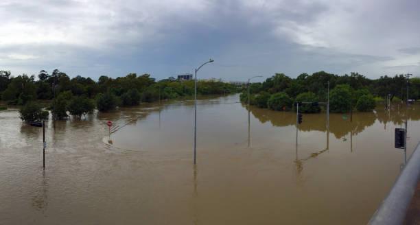 Flooded stock photo