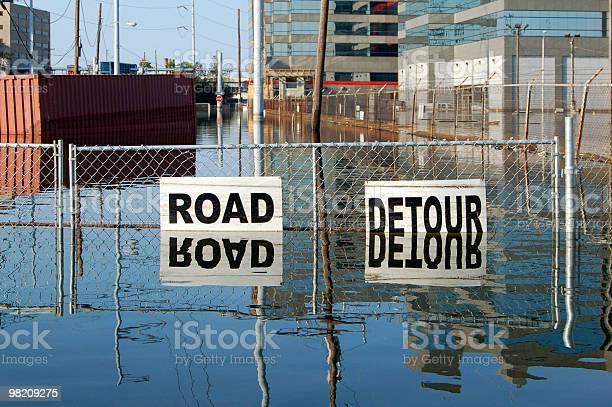 Flooded Street, New Orleans, Louisiana