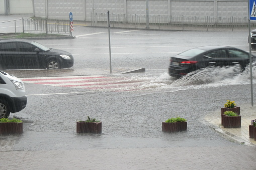 istock Flooding after heavy rain, 1007141232