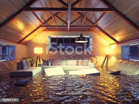istock flooding  interior loft 538951001