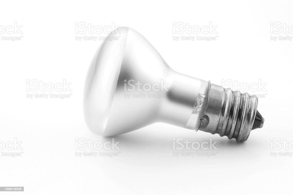 Floodlight bulb stock photo