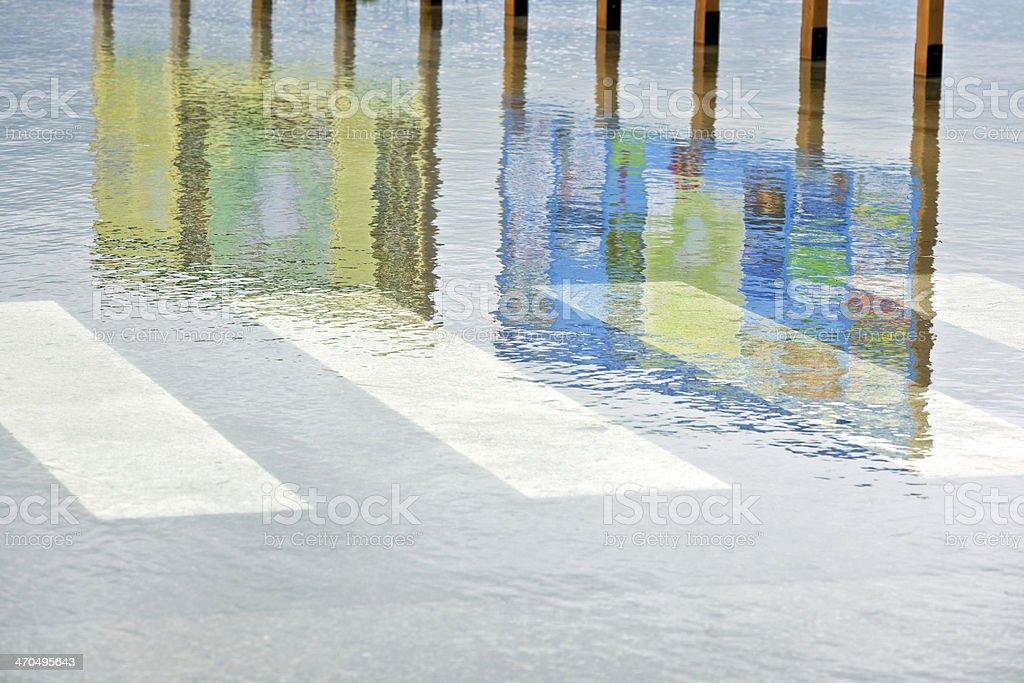 Floods in Cerknica, Notranjska, Slovenia, Europe stock photo