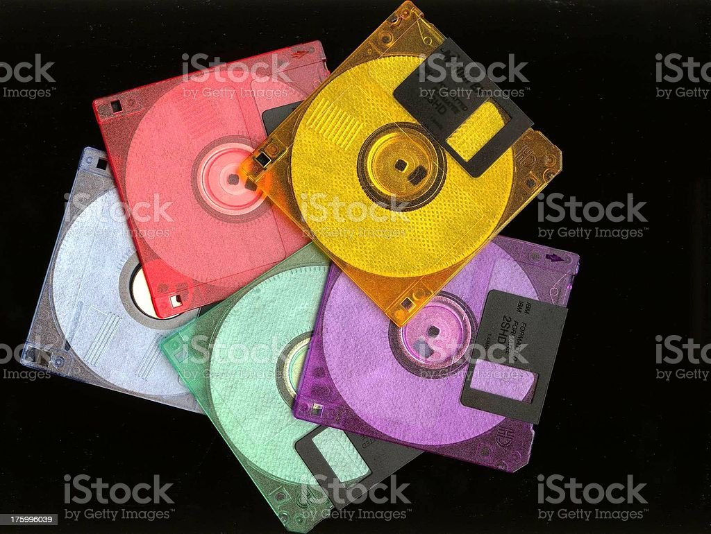 Floopy Colors royalty-free stock photo