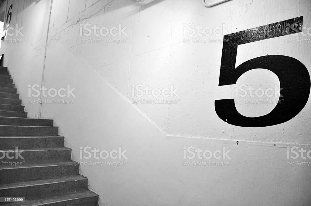 Floor 5 stock photo