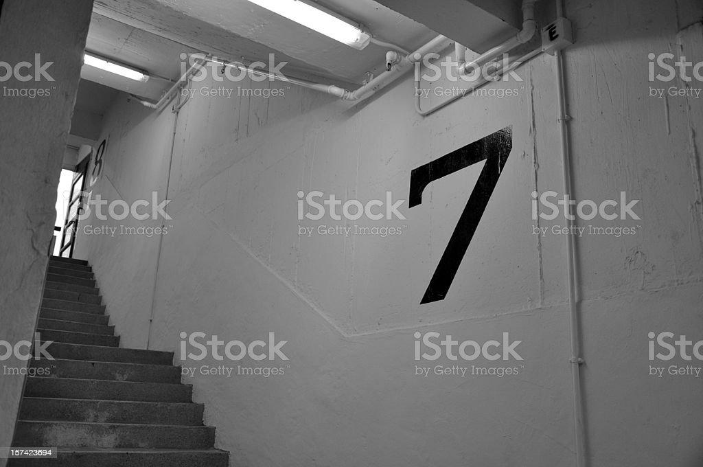 Floor 7 royalty-free stock photo