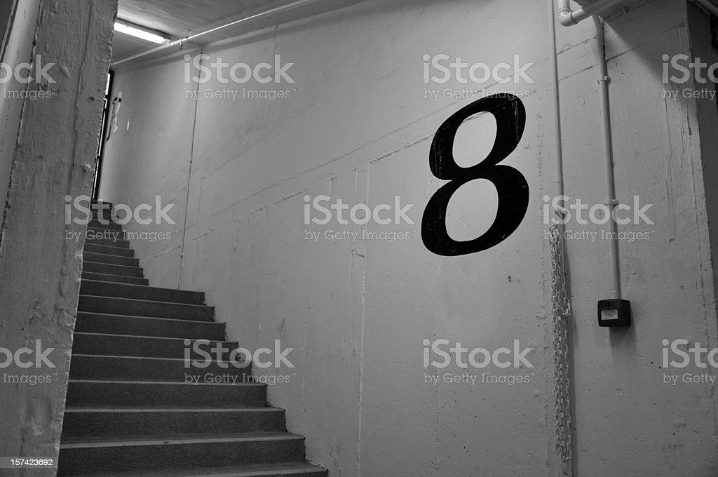 Floor 8 stock photo