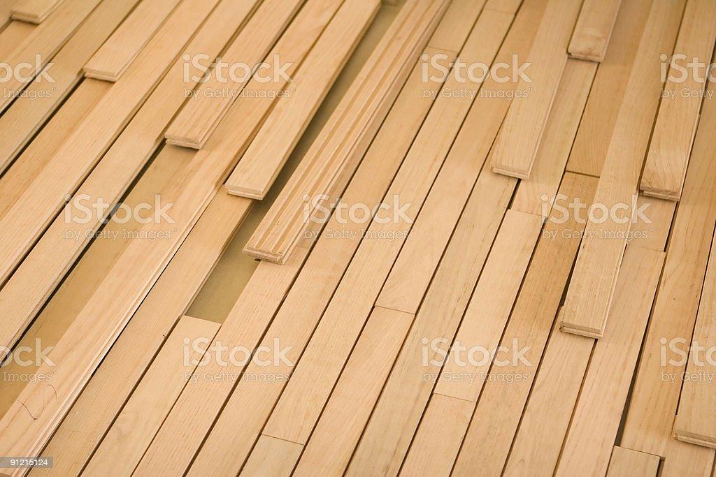 Floor Angle Pieces stock photo