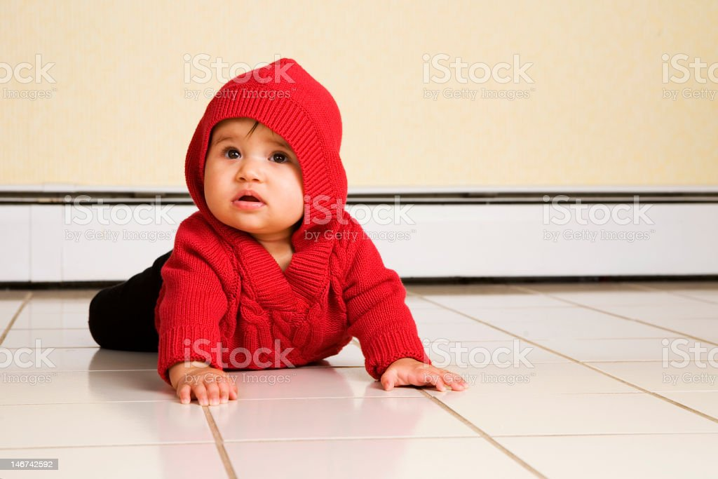 Floor Baby royalty-free stock photo