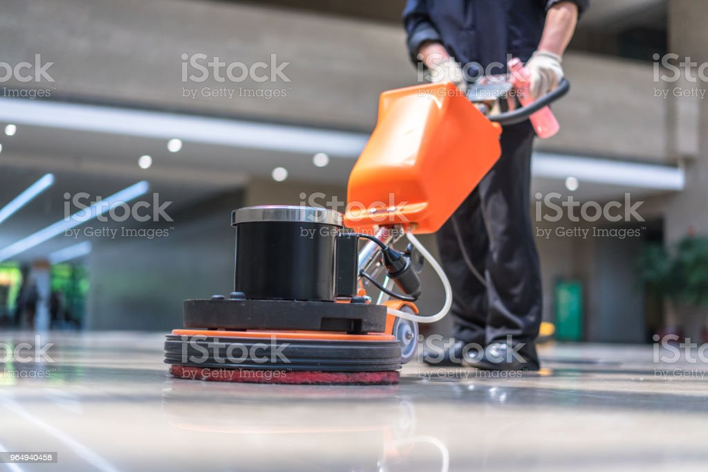 floor care machine stock photo