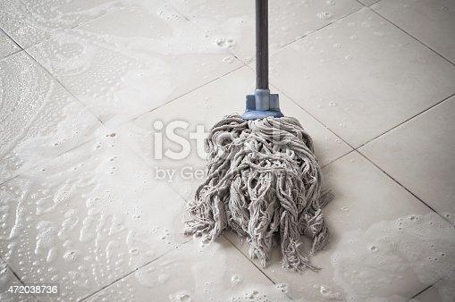 istock Floor cleaning 472038736