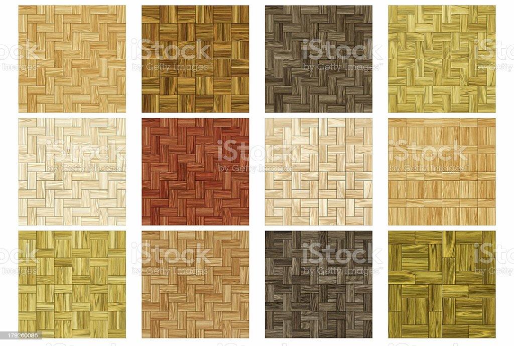 Floor covering - Set 2 (Seamless texture) stock photo