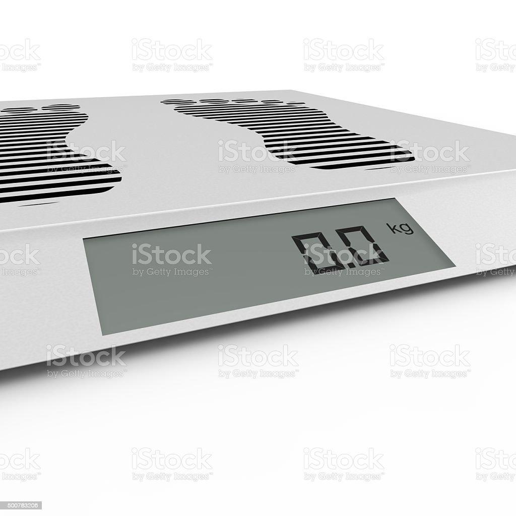 PISO Balanza electrónica - foto de stock
