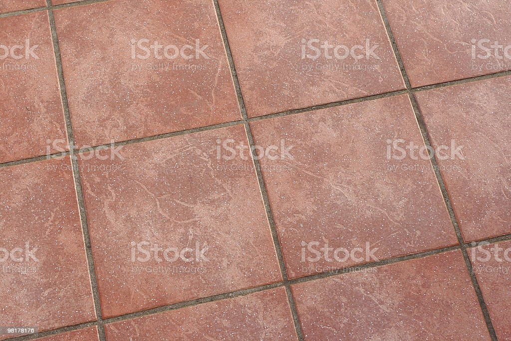 floor from tiles royalty-free stock photo