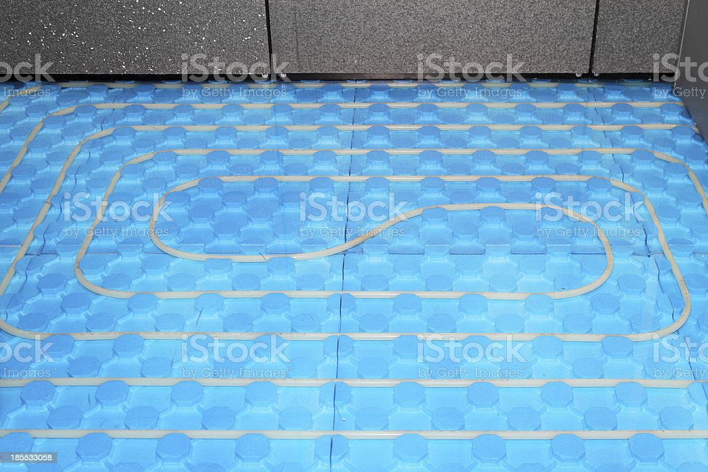 Floor heating royalty-free stock photo