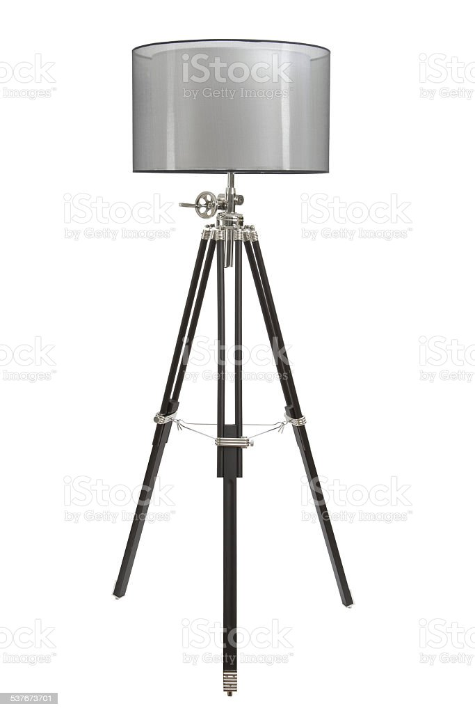 floor lamp stock photo